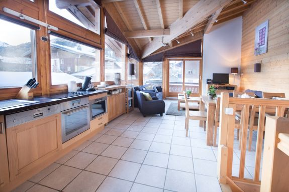 Ride Morzine self catered mountain bike apartments